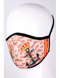 Pink Mask with Spain Flag