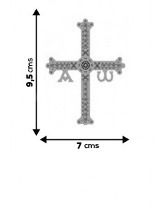 Cross of Asturias Sticker
