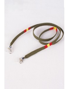 Laces for Colored Glasses with the Flag of Spain