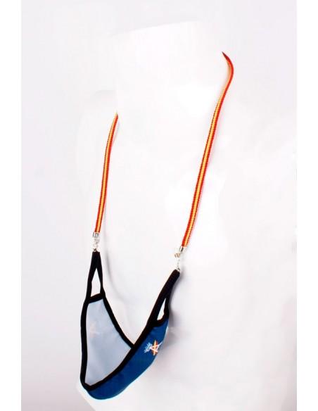 Cordón para Gafas y Mascarillas Bandera España