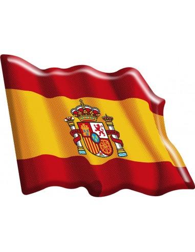 Pegatina Bandera España Actual...