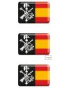 Pegatina Relieve Mini Legión