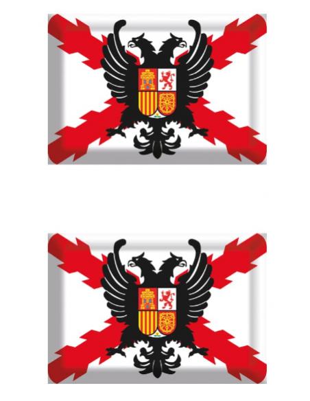 Pegatina Tercio de Flandes Relieve 2 Unidades