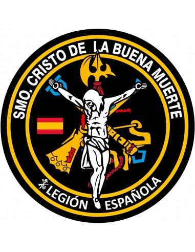 Pegatina de la Legión Española Santísimo Cristo de la Buena Muerte
