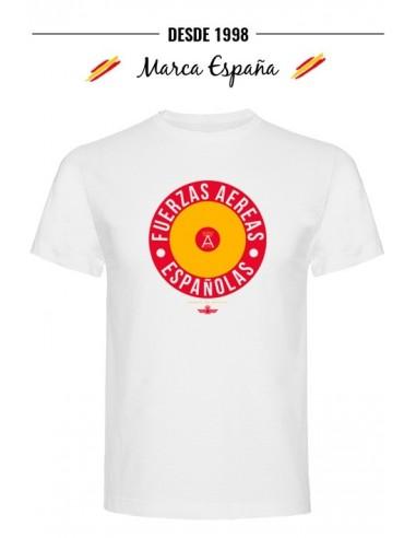camiseta de las Fuerzas Aéreas Españolas con la Escarapela.