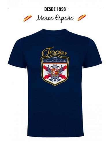 camiseta Tercios de Flandes español Águila Bicéfala de Felipe II
