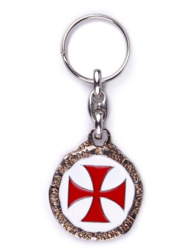 Llavero con el Escudo de los Templarios