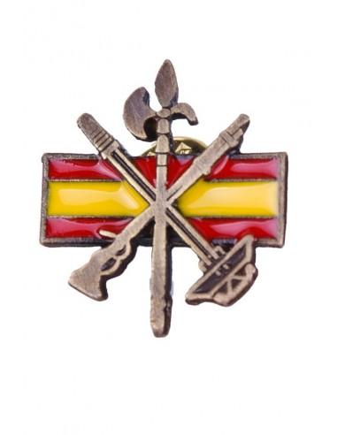 Pin Pisacorbata Bandera España de la Legión