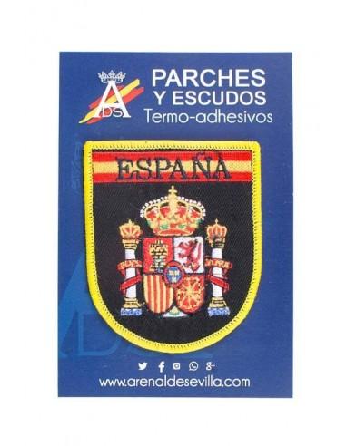 Parche Bordado España Leyenda - Negro
