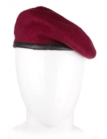 Boina Original Militar Brigada de Transmisiones Britans. Lana 100%.