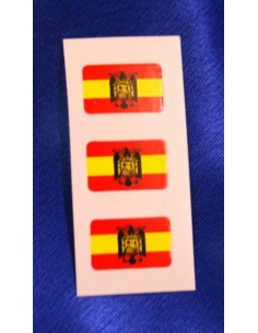 San Juan Eagle Spanish Flag Stickers