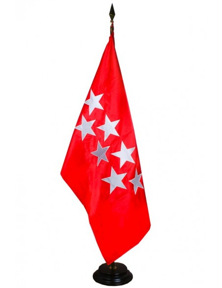bandera bordada comunidad de madrid