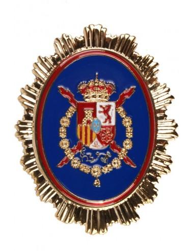 Placa Casa Real Juan Carlos I para Cartera