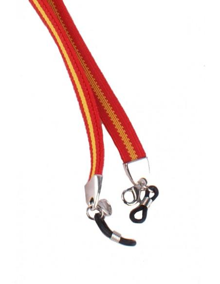Cordón Elástico para Gafas Bandera España