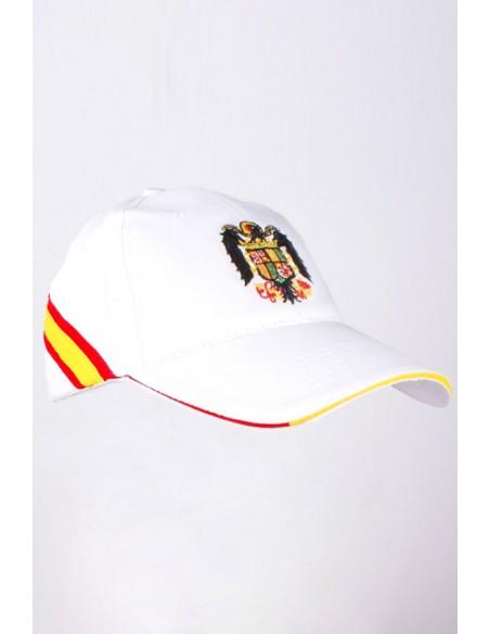 Gorra España Águila San Juan Blanca