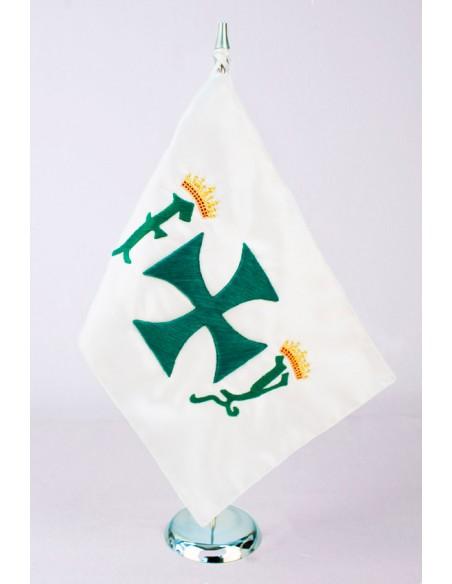 Banderín Sobremesa Cristobal Colón Bordado