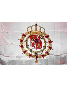 Spain Pavilion Eighteen Century Flag