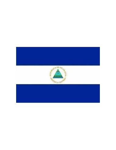 Bandera República de Nicaragua