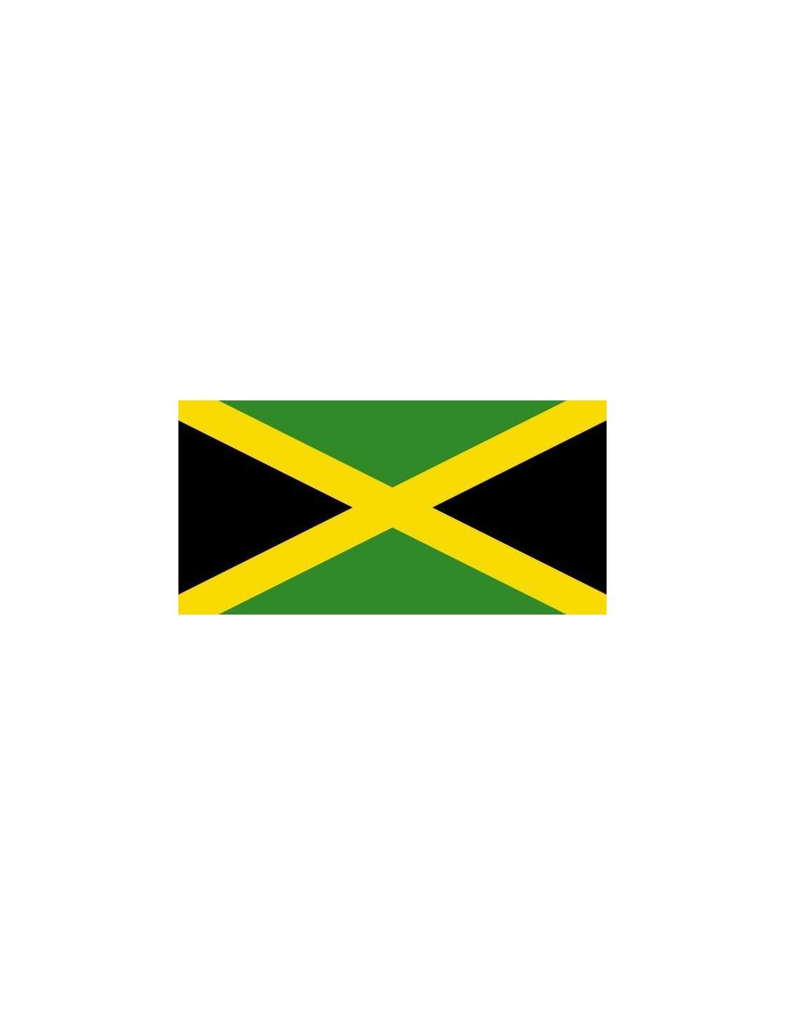 Moderno Colorear Bandera De Jamaica Colección - Enmarcado Para ...