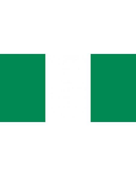 Bandera República Federal de Nigeria