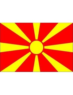 Republic of Macedonia Flag