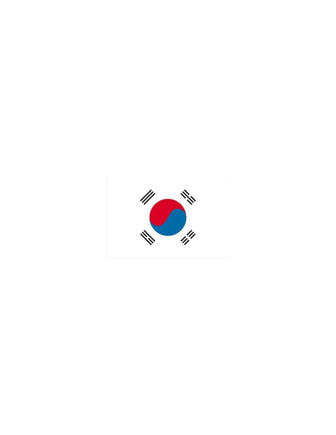 arenal de sevilla south korean flag