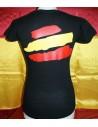 Spanish Local Police Woman T-Shirt - Black