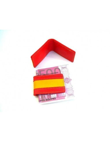 Spanish Flag Money Clip