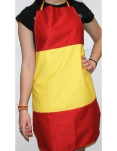 Apron Spanish Flag without Shield