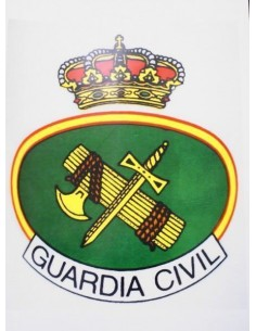 Spanish Civil Guard Metal Sheet