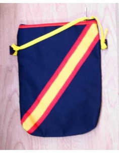 Spanish Flag Fabric Bag