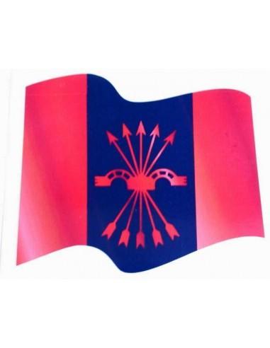 Spanish Falange Flag Sticker