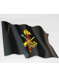 Waving Legion Flag Sticker