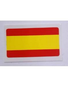 Pegatina Bandera España Plana 1 Unidad