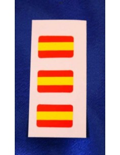 Sticker Flag Spain Tv Mini