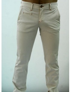 Tile Trousers - Beige