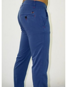 Tile Trousers - Royal Blue