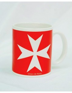 Taza Cerámica Orden de Malta