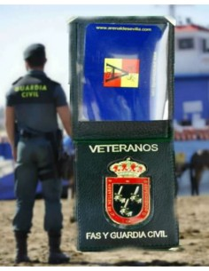 Spanish Civil Guard Veterans Badge Wallet