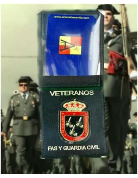 Cartera Veteranos de la Guardia Civil