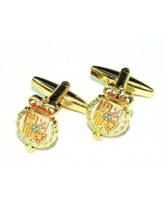 Gemelos del Escudo de Armas del Rey Felipe VI