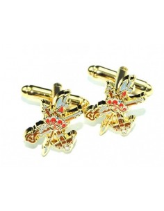 Legion badge cufflinks