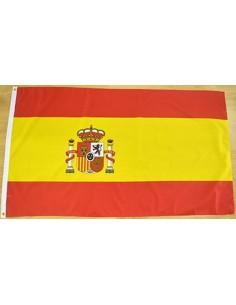 Bandera España con Escudo Poliéster