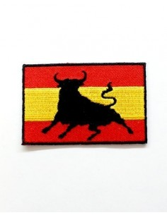 Spanish Bull Embroidered patch
