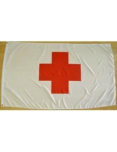 Bandera Cruz Roja Internacional Poliéster