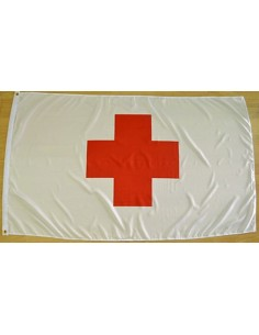 Red Cross Flag Polyester