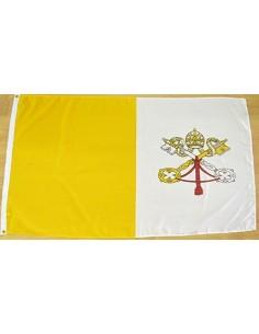 Bandera Estado Ciudad del Vaticano Poliéster
