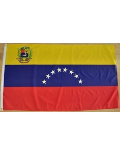 Bandera República Bolivariana de Venezuela Actual Poliéster