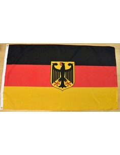Germany Flag with Emblem