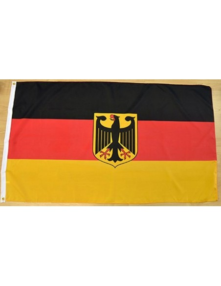 Germany Flag with Emblem